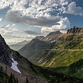 Sunset In Glacier National Park by John McGraw