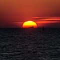 Sunset In Grado by Wolfgang Stocker
