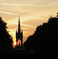 Sunset In Hyde Park by David L Griffin