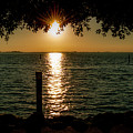 Sunset In Lignano Rivera by Wolfgang Stocker