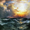 Sunset In Mid-ocean by MotionAge Designs