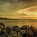 Sunset In Montego Bay by Debbie Ann Powell