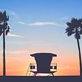 Sunset In Paradise  by David Cornelius