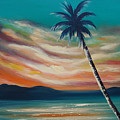 Sunset In Paradise  by Gina De Gorna
