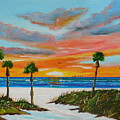 Sunset In Paradise by Lloyd Dobson
