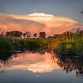 Sunset In Sandibe Botswana by Gregory Daley  MPSA