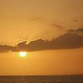 Sunset In Sea by Yury Bashkin