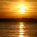 Sunset In Shelter Island  by Matthew Kennedy