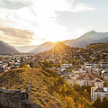 Sunset In Sion by Werner Dieterich