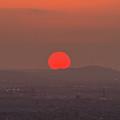 Sunset In Smog by Hyuntae Kim