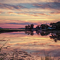 Sunset In Stony Brook, New York by Alissa Beth Photography