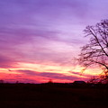 Sunset In The Country by Amanda Kiplinger