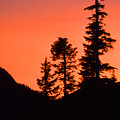 Sunset In The Mountains 2 by Lyle Crump