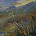 Sunset In The Mountains by Joanne Smoley