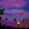 Sunset In Your Colorful Moon by Kenneth James