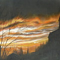 Sunset  by Irina Astley