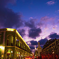 Sunset It Campeche City Downtown by Pablo Aura
