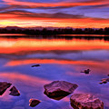 Sunset Lake by Scott Mahon