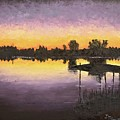 Sunset At Ryba Lake by Daniel Smith