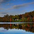 Sunset Lake View by Doug Swanson
