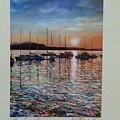 Sunset by Matthew Evans