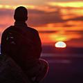 Sunset Meditation by John Meader