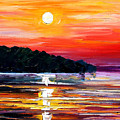Sunset Melody by Leonid Afremov