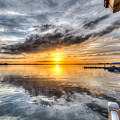 Sunset Mirroracle by Ronald Kotinsky