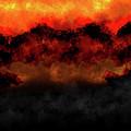Sunset Mountains by Vijay Prakash