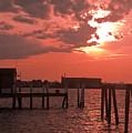 Sunset Newport Rhode Island by Steven Natanson