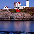 Sunset Nubble by Greg Fortier