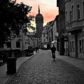 Sunset Of Castle Church by Jost Houk