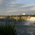 Sunset On American Falls 2 by Living Color Photography Lorraine Lynch