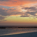 Sunset On An Idyllic Island In Maldives by Oana Unciuleanu