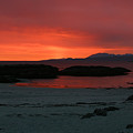 Sunset On Arisaig by Mike Bambridge