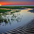 Sunset On Cape Cod by Rick Berk