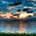 Sunset On Cedar Key by Rich Leighton