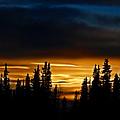 Sunset On Fairbanks - Alaska by Galeria Trompiz