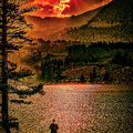 Sunset On Fire by Hugh Mobley