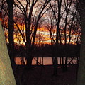 Sunset On Fox River by Deborah Finley