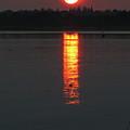 Sunset On Friendship by Kelly Mezzapelle