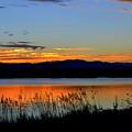 Sunset On Lake Dillon by Regina Strehl