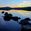 Sunset On Lake Harris 2 by Tony Beaver