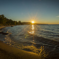 Sunset On Lake Superior by Jack R Perry