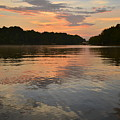 Sunset On Lake Wedowee Alabama by Mountains to the Sea Photo