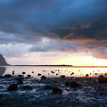 Sunset On Le Morne by Clic- Cat