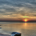 Sunset On Long Island Sound by Luis Cifuentes