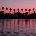 Sunset On Long Beach Bay by S Lynn Lehman