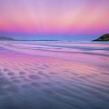 Sunset On Long Beach by Tracy Munson