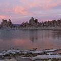 Sunset On Mono Lake by Sandra Bronstein